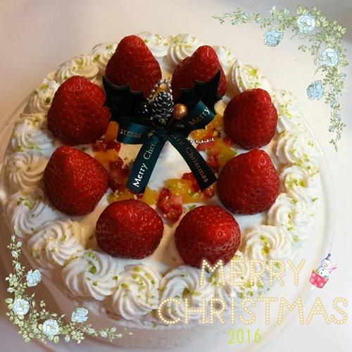 クリスマスのケーキ2016コラージュリサイズ.jpg
