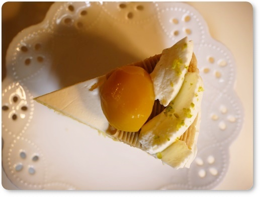 栗のショートケーキ真上.JPG
